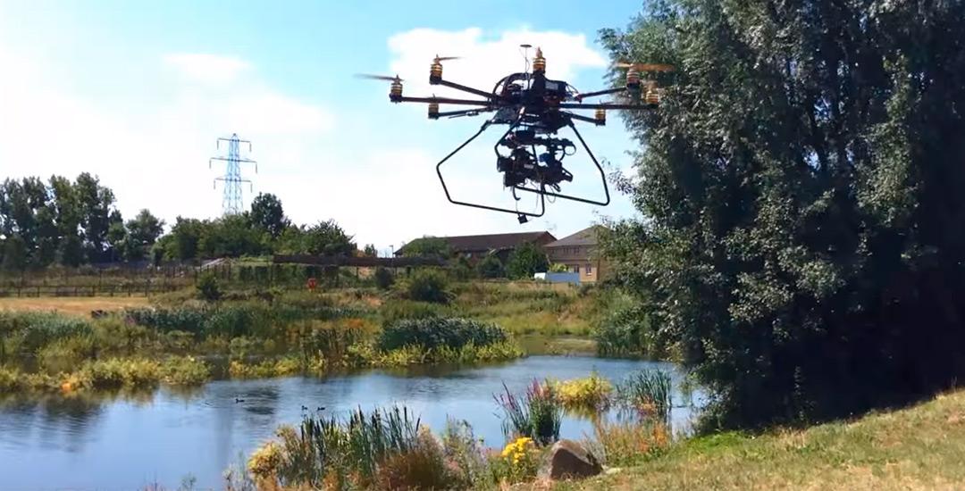 Curso de fotogametría con drones