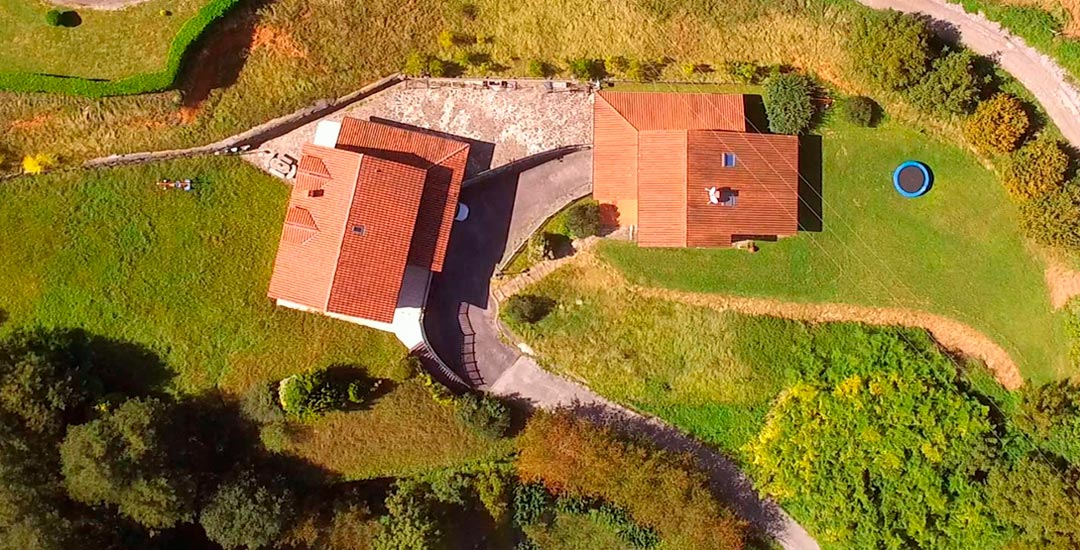 Trabajo con dron para sector inmobiliario en españa