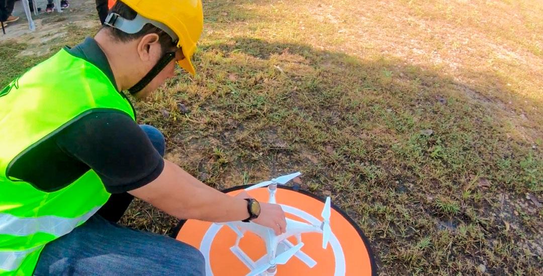 Trabajo con drones en España